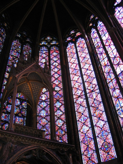 Amazing Stained Glass Windows at Sainte Chapelle