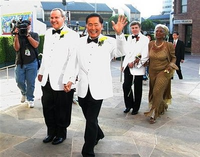 Takei Wedding picture