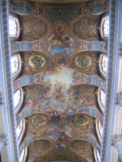 A Ceiling in the Palace of Versailles
