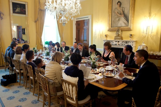 President Obama host the first White House Seder