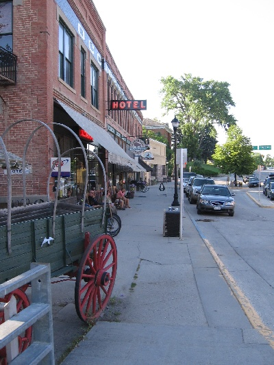 Main Street in Buffalo, Wyoming