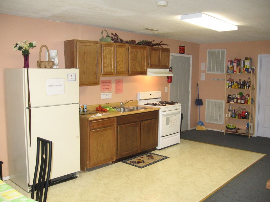 One of the kitchens at Community Touch