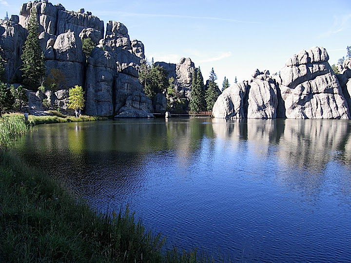 Sylvan Lake, on Needles Highway in South Dakota's Black Hills