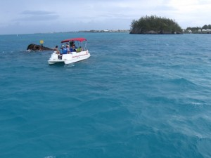 Aquamarine seas come at no extra charge in Bermuda