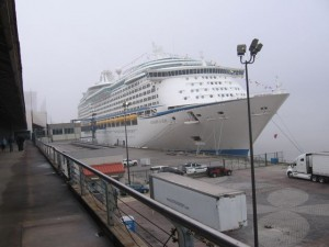 Voyager of the Seas, in berth in New Orleans