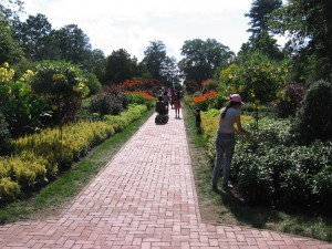 Flower walk at Longwood Gardens