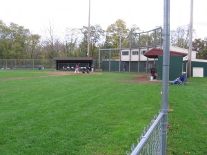 There is still baseball in Collins Park, Scotia NY