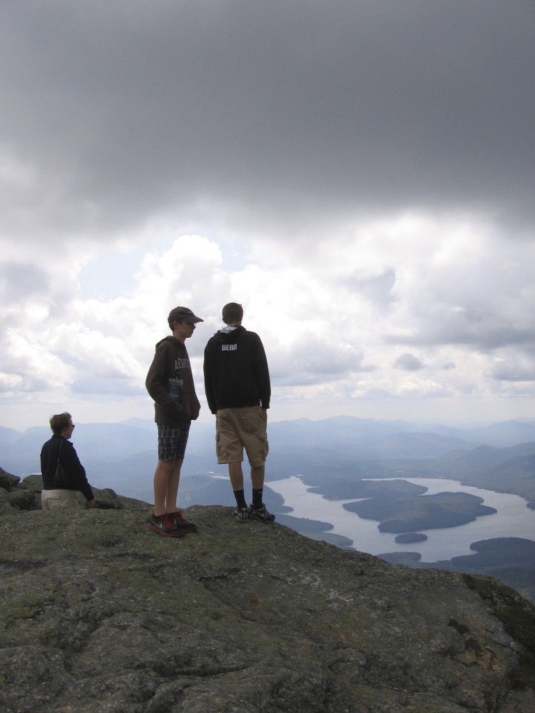 Summit of Mount Whiteface (Lake Placid in background)
