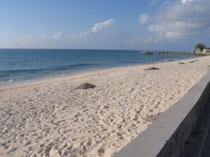 Columbus actually landed here (Grand Turk)