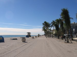 Beach at Hollywood Florida