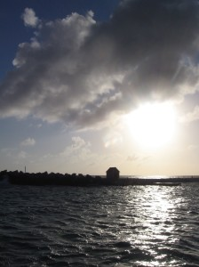 Sunset cruise in Curacao