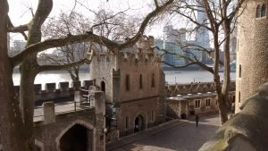 London and the River Thames from the Tower of London